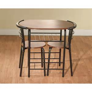 Kitchen Bistro Table And 2 Chairs 3 Bistro Set Table 2 Chairs Dinette Black Space Saver Dining Kitchen Ebay