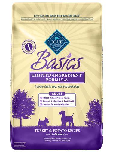 blue buffalo basics puppy blue basics 174 food turkey potato recipe