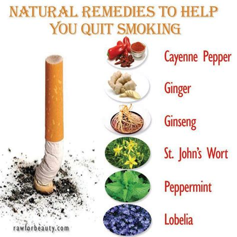 Can You Smoke Cigarettes While Detoxing For A Test by Remedies To Help You Quit Health Anti