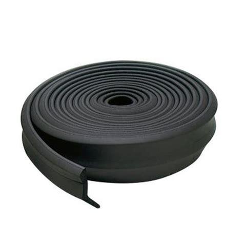 Rubber Garage Door Seal 2 In X 100 Ft Rubber Garage Door Bottom M D Building Products Inc