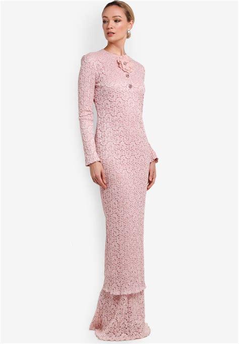 Baju Kurung Lace Dress 1115 best images about kebaya baju kurung on clothing tadashi shoji and