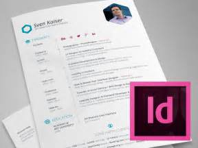 indesign templates indesign template free hexagon vita resume cv by sven