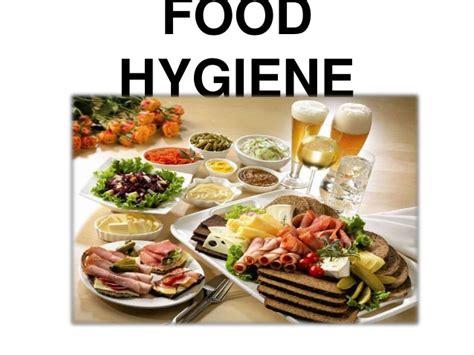 hygiene cuisine food hygiene