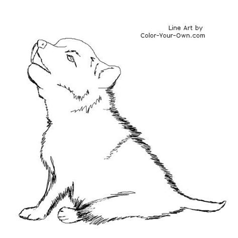 wolves coloring pages wolf coloring pages for wolf puppy coloring page
