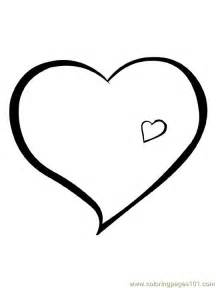 hearts 6 coloring free heart coloring pages coloringpages101