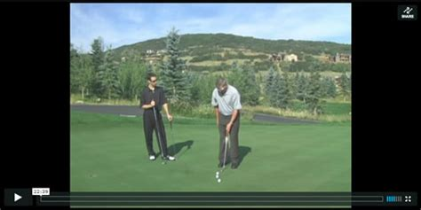videojug perfect golf swing watch the video on learning how to putt and the