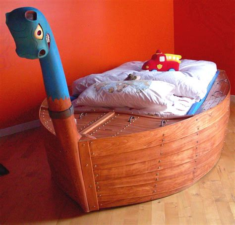 viking boat bed finewoodworking - Viking Boat Bed