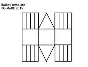 paper basket weaving template paper basket