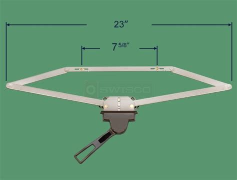 awning window operator replacement 39 070 lever lock awning window operator 23 1 4 quot swisco com