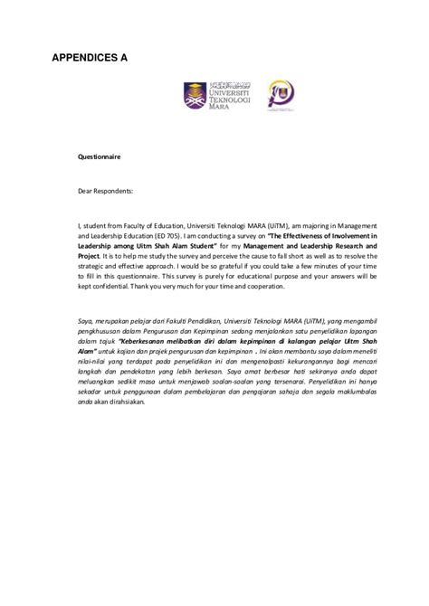 Offer Letter Uitm Research
