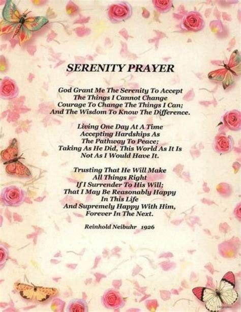 full version of serenity prayer serenity prayer full version uniting caregivers