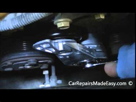 Ford Crown Serpentine Belt Tensioner Replacement Lincoln Towncar Ford Crown Belt Tensioner