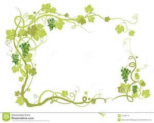 Green Vineyard Frame Royalty Free Stock Photo   Image: 21490175