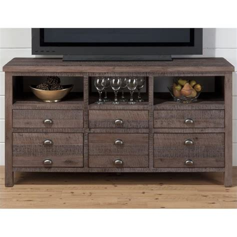 Entertainment Center Wood 60 Quot Tv Console In