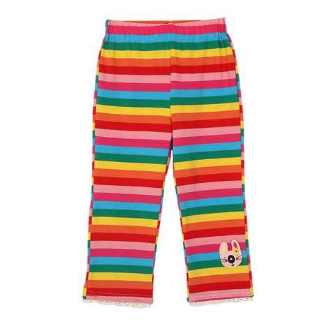 Rich Cotton Legging Flowers Rainbow popular rainbow striped buy cheap rainbow striped lots from china rainbow