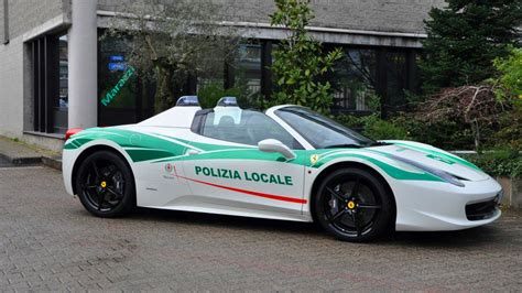 police ferrari enzo mafia s confiscated ferrari 458 turned into police car