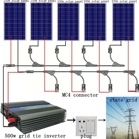 500w 5 100w pv solar panel kit 500watt poly solar module