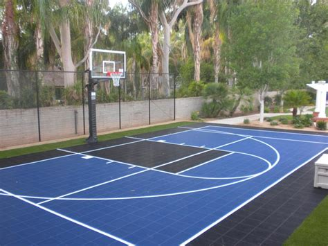 backyard sport court backyard courts gallery sport court of southern california