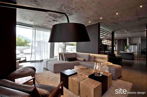 stylish home interiors dramatic modern house by site interior design decoholic