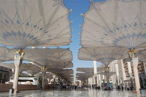 Umbrella Madinah Original Import Saudi al masjid al nabawi mosque in saudi arabia thousand wonders