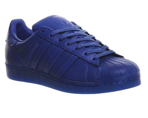 Sepatu Adidas Superstar Low Unisex Made In 1 adidas superstar 1 blue unisex sports