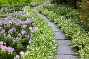 a lovely and low care garden path