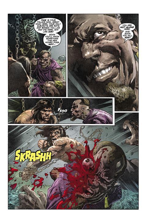 King Conan The Hour Of The Graphic Novel Buruan Ambil vs conan battles comic vine