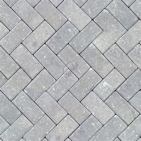 stone paving outdoor herringbone texture seamless 06509