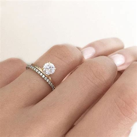 single band engagement rings 18 stunning engagement rings the bohemian wedding