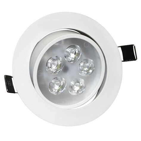 Led Ceiling Downlight by 5w Angle Adjustment Recessed Spotlight Led Ceiling Downlight