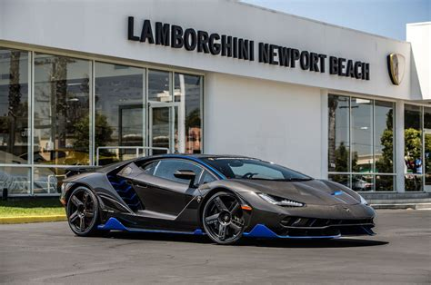 first lamborghini lamborghini centenario delivered to first us customer
