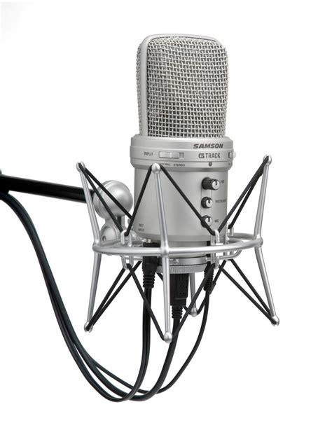 Samson G Track Usb Condenser Microphone Promo samson g track usb condenser microphone with