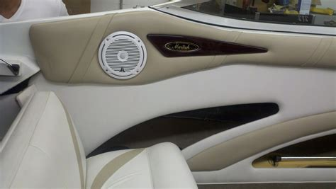 boat audio speakers marine speaker install options and functionality