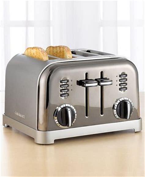 Black Chrome Toaster Cuisinart Cpt 180bch Toaster 4 Slice Black Chrome