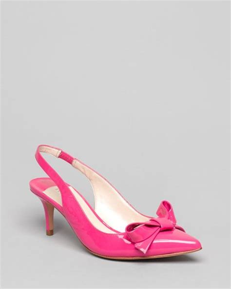 ivanka pointed toe slingback pumps lovely in pink