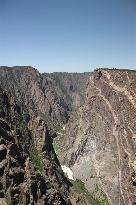 painted wall black canyon the painted wall at black canyon of the gunnison national