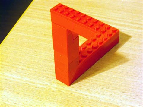 Cool Shelf Ideas by Build Your Own Penrose Triangle The Brothers Brick The