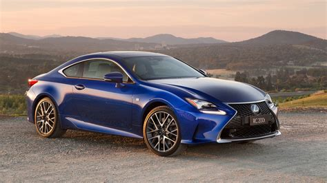 lexus car 2016 2016 lexus rc200t review caradvice
