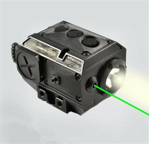 ar 15 laser light at3 tactical green laser light combo with led strobe