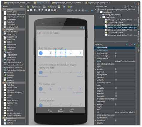 android studio list layout android studio 0 5 8 released android studio project site