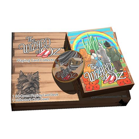 Playing Card Gifts - the wizard of oz kansas playing cards gift set 8bitpro com