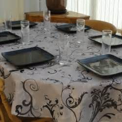 Ideas For Lenox Tablecloths Design Decor Tips Lenox Perle Embroidered Linen Blend Oval Tablecloth With Dining Ware Set