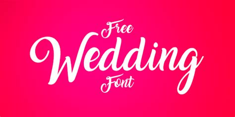 Wedding Font Logo by 10 Best Free Script Calligraphy Fonts 2017 For Wedding