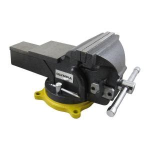 bench vise home depot olympia 6 in single handed operation bench vise 38 647