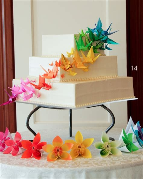 Origami Wedding Decorations - 21 origami wedding decoration ideas