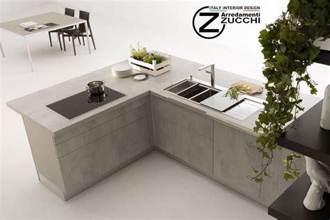 piano cucina in cemento piani cucina in laminato cemento dada zucchi