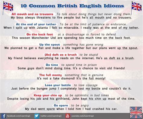 Funny Bathroom Writing Common British English Idioms