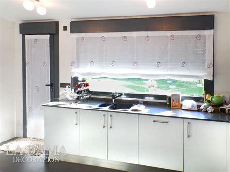 Decoracion Cortinas Para Cocina #8: Estor-cocina-circulos.jpg
