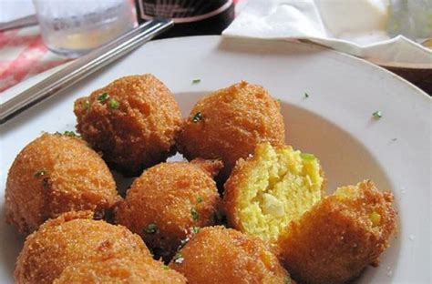 southern hush puppies foodista how to make traditional southern hush puppies