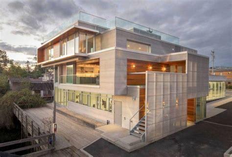 hausfassade weiß anthrazit hausfassade modern aussenfarbe haus hausfassade modern